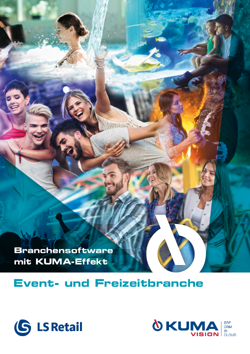 Flyer ERP software for the event and leisure industry