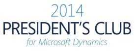 Logo President's Club 2014 for Microsoft Dynamics