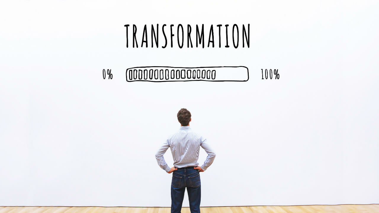 Blog article Transformation at the push of a button