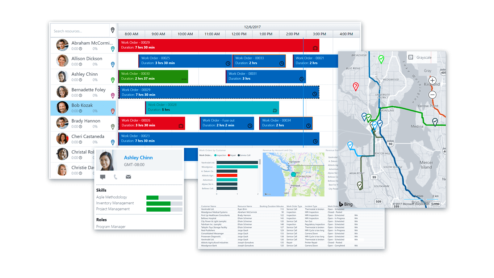 Microsoft Dynamics 365 for Field Service: Improved planning