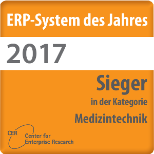 Logo ERP system of the year