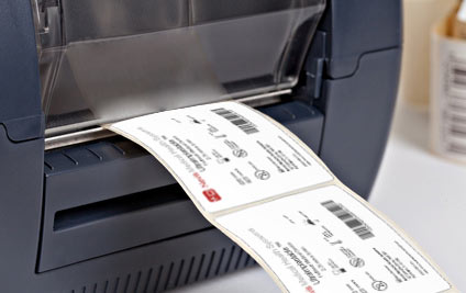 Print UDI labels directly from the software