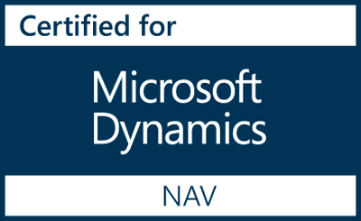 logo certified for microsoft dynamics nav