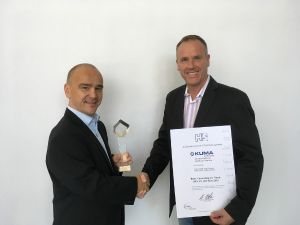 KUMAVISION honored for best quality management