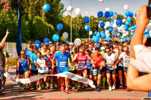 KUMAVISION starts with fourteen runners at the 2. Company run Friedrichshafen
