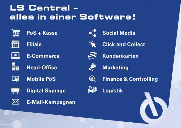 KUMAVISION shows complete retail software LS Central at EuroShop