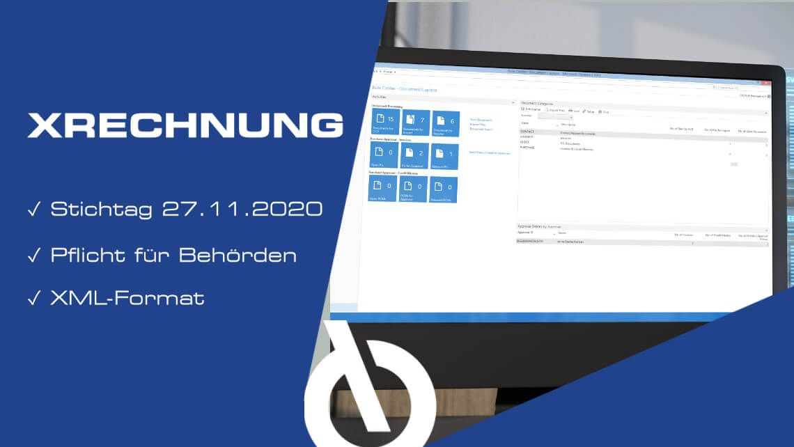 The XRechnung - you have to expect it!