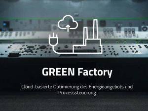 Energy-efficient production with GREEN Factory from KUMAVISION