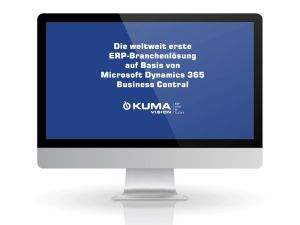 World's first industry software based on Microsoft Dynamics 365 Business Central